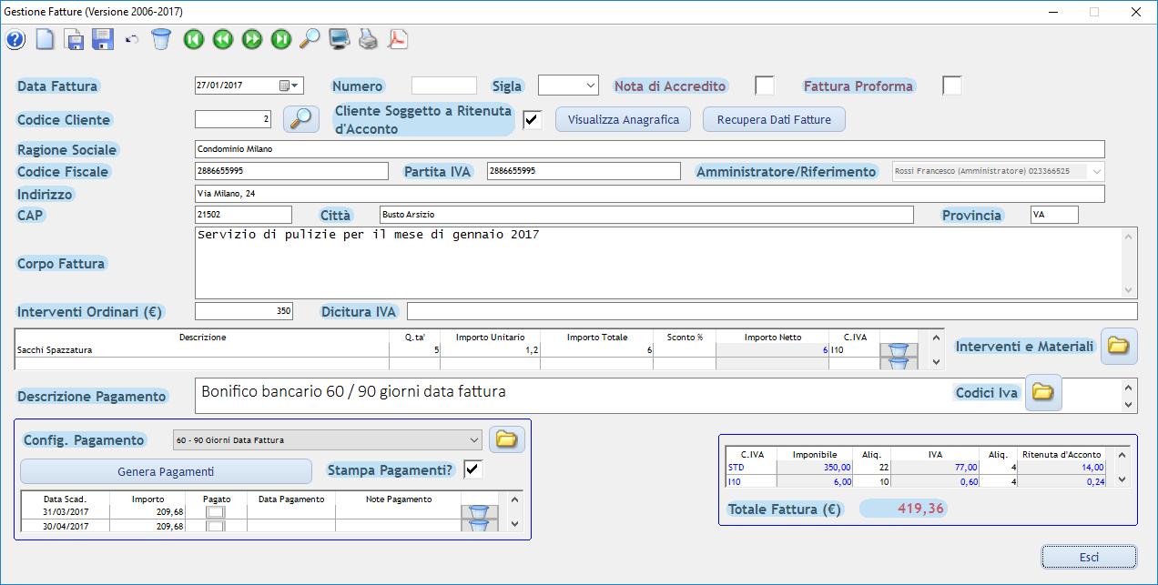 software fatturazione professionisti e consulenti